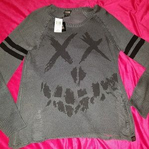 Hot Topic DC Suicide Squad sweater